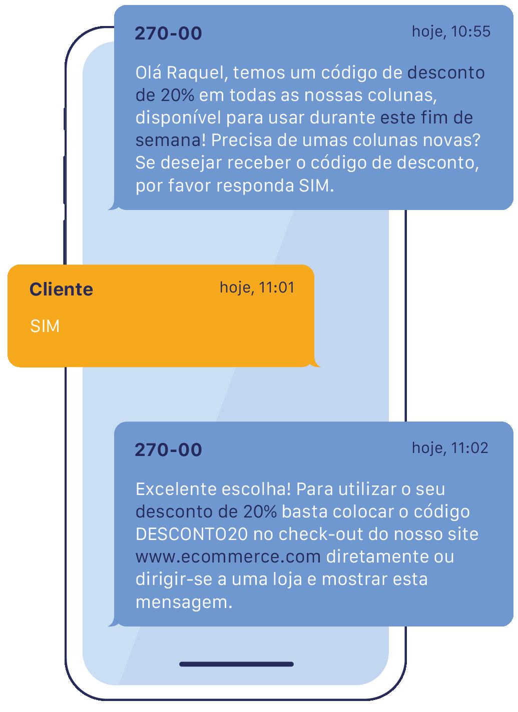 Bulk SMS Ecommerce